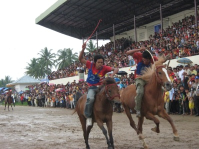 Annual horse race in Payakumbuh