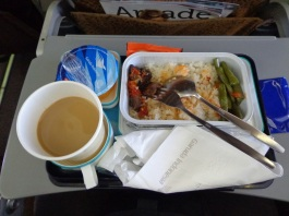 makanan di atas pesawat