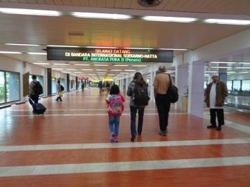 Awal tiba di Jakarta
