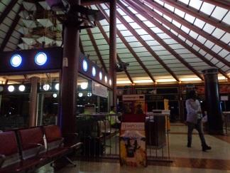 Lobby waiting room untuk penerbangan ke Eropa