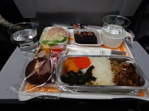 Makanan di pesawat menuju eropa