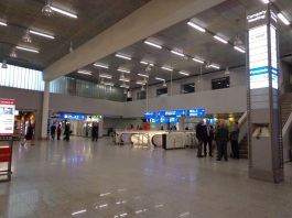 Frankfurt International Airport lobby