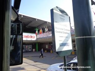 Terminal bus bandara Milan Linate