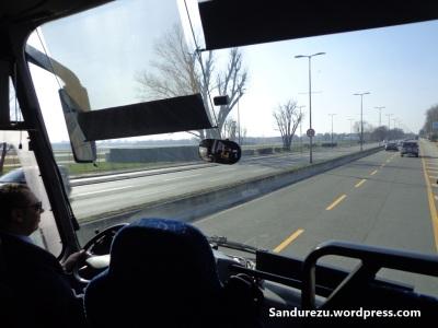 Di atas bis menuju Milano Centrale