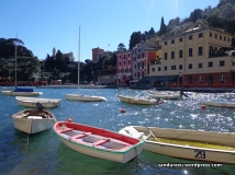 Cantiknya kapal-kapal yang bersandar di dermaga Portofino