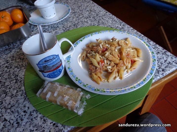 Makan siang Italia ala bu Nini