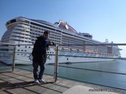 Kapal Pesiar di Stazione Maritima