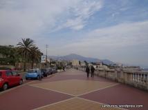Pedestrian di tepi pantai Genova, Corso di Italia