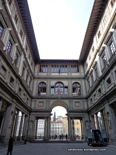 Salah satu sudut kota Florence di dekat Piazza della Signoria