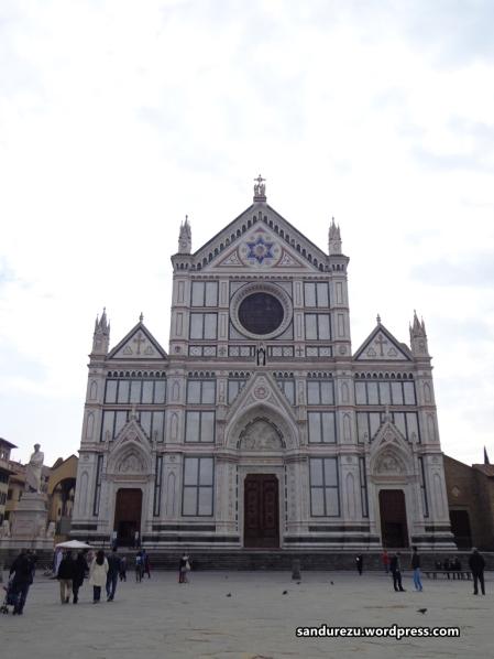 Salah satu gereja di Florence