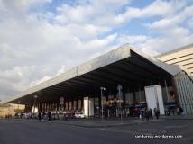 Stasiun Firenze Santa Maria Novella dari depan