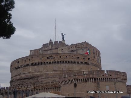 Castel san Angelo dari samping