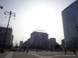 Suasana kota Milan