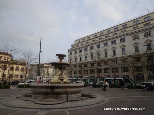 Taman-taman kota Milan