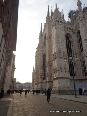 Sudut-sudut Milano Cathedral