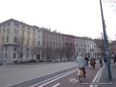 Jalur sepeda di Milan