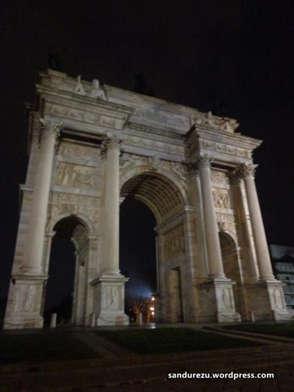 Arch of Peace di Gerbang Sempione Park