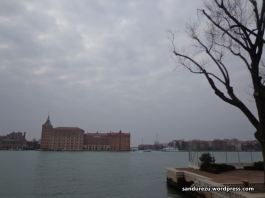 Tepian selat di kota Venice
