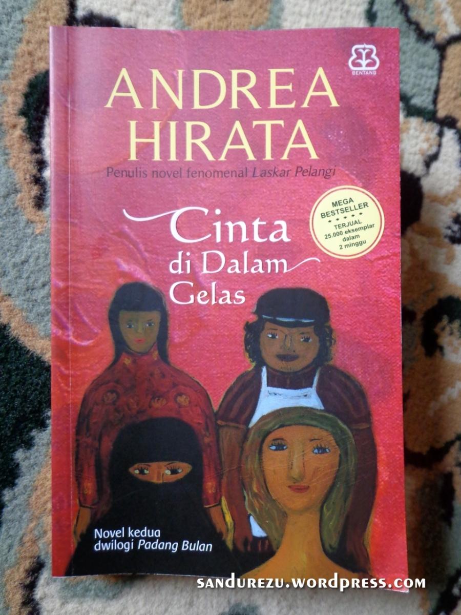 Cinta di Dalam Gelas - Andrea Hirata [Book Review]
