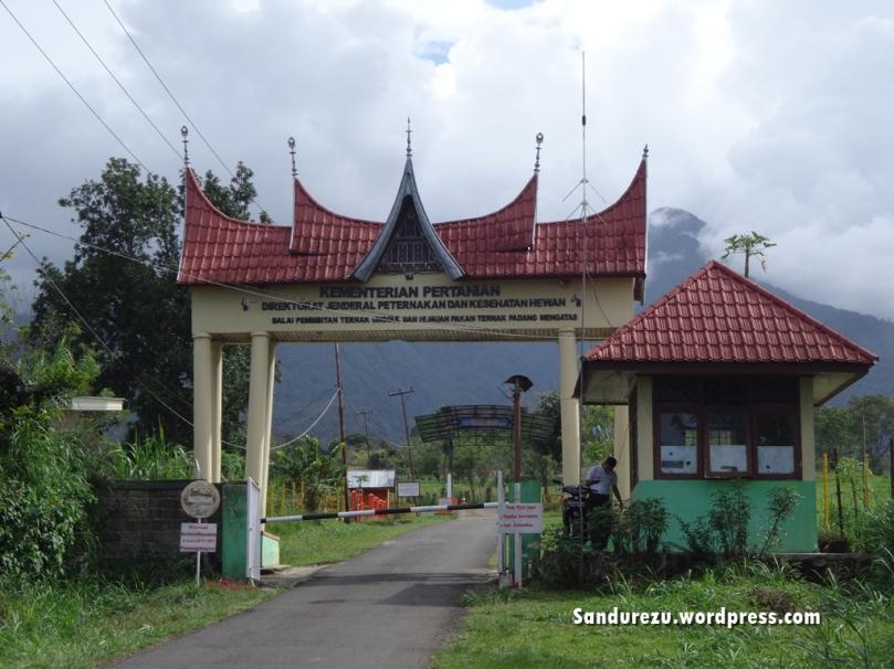 Gerbang menuju BPTUHP Padang Mengatas