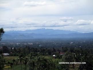 Kota Payakumbuh dari ketinggian