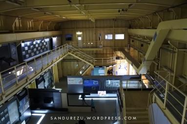 Suasana museum saat mau tutup