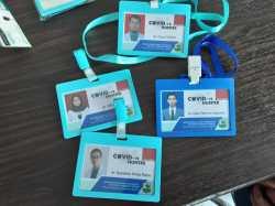 ID Card Covid-19 hunter